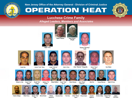 Lucchese Crime Family Organization Chart